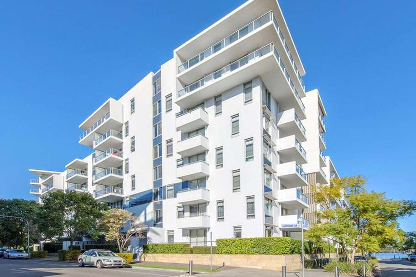 Main view of Homely house listing, 403/14 Shoreline Drive, Rhodes NSW 2138