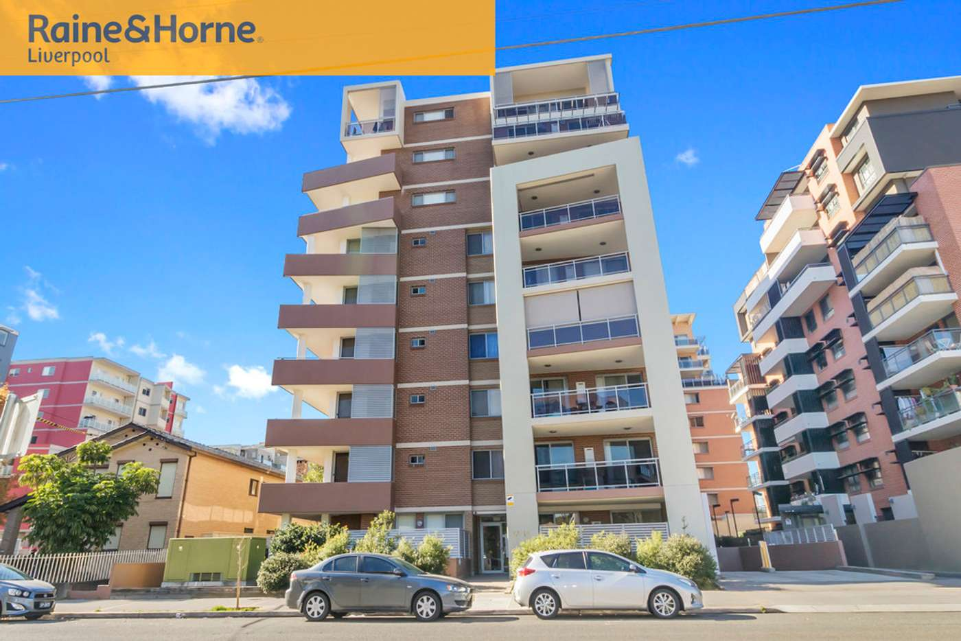 Main view of Homely unit listing, 12/12-14 George Street, Liverpool NSW 2170