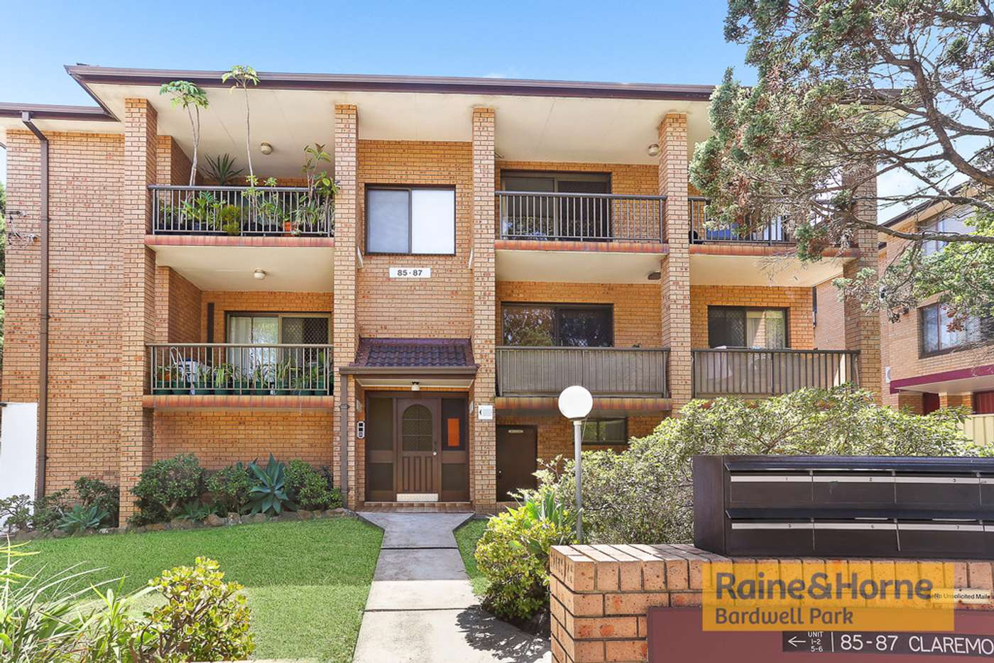 Main view of Homely apartment listing, 6/85 Claremont Street, Campsie NSW 2194