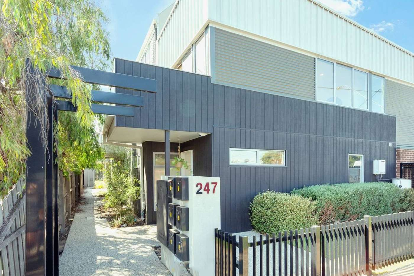 Main view of Homely townhouse listing, 1/247 Williamstown Road, Yarraville VIC 3013