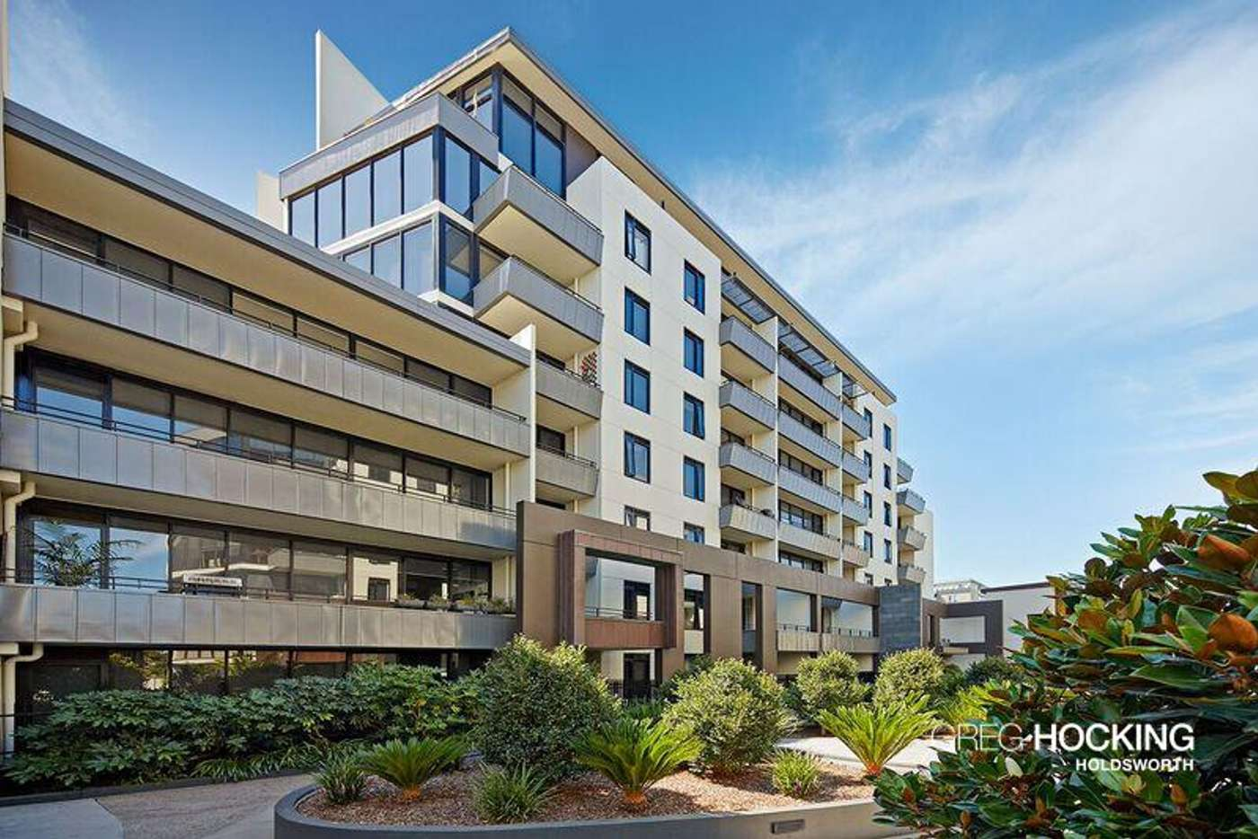 Main view of Homely apartment listing, A309/57 Bay Street, Port Melbourne VIC 3207