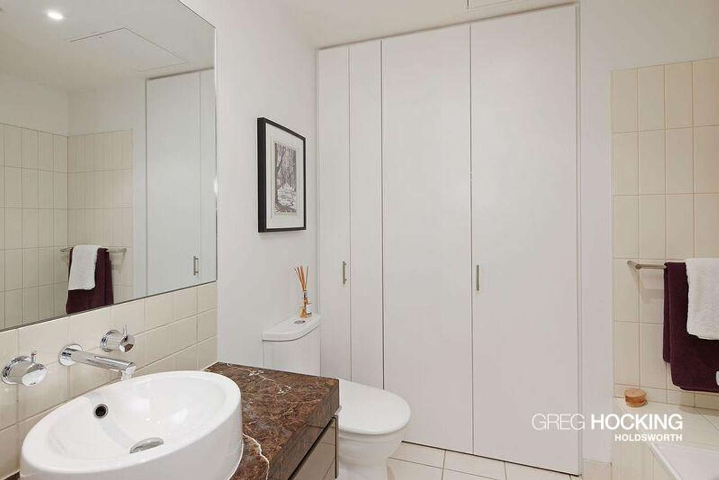 Sixth view of Homely apartment listing, A309/57 Bay Street, Port Melbourne VIC 3207