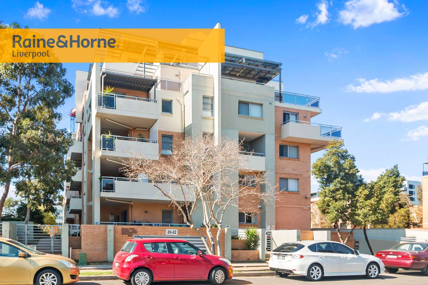 Main view of Homely unit listing, 47/20-22 George Street, Liverpool NSW 2170