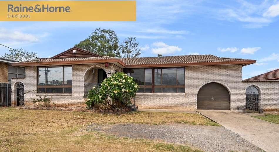 478 Cabramatta Road, Mount Pritchard NSW 2170
