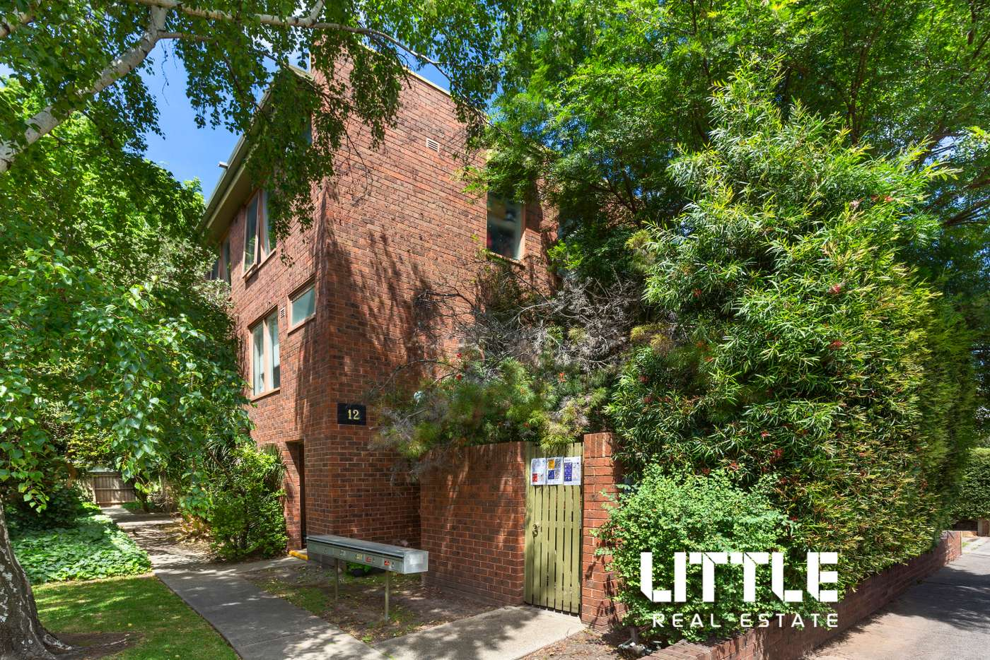 Main view of Homely apartment listing, 2/12 Dickens Street, Richmond VIC 3121