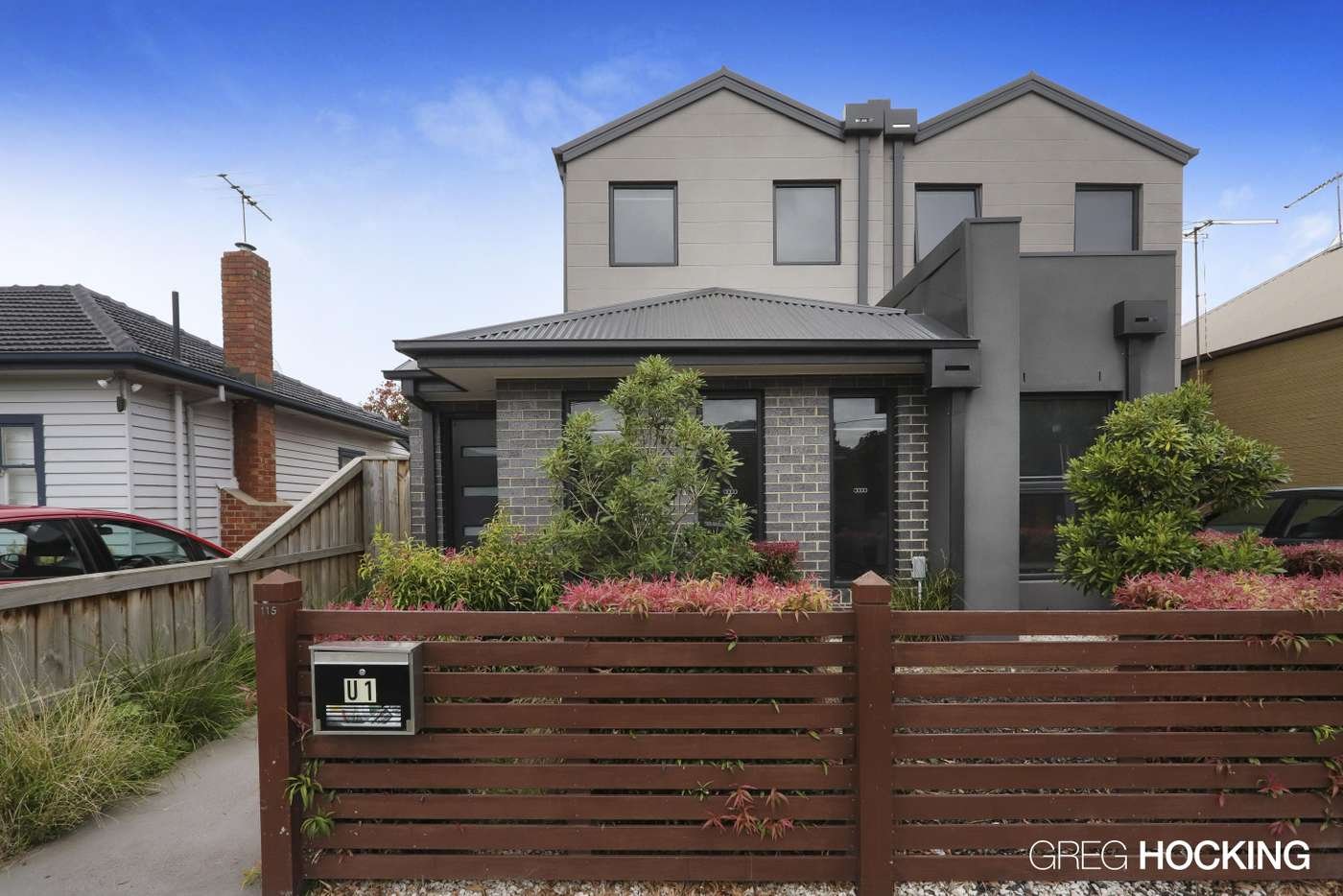Main view of Homely house listing, 1/115 Creswick Street, Footscray VIC 3011