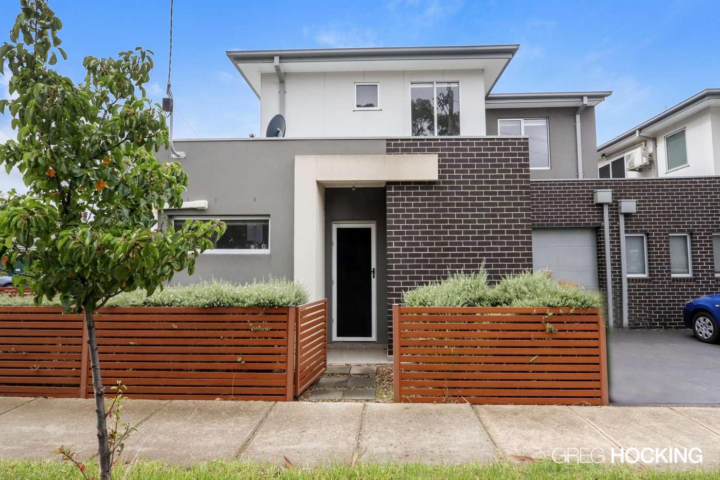 Main view of Homely townhouse listing, 221 Ballarat Road, Footscray VIC 3011