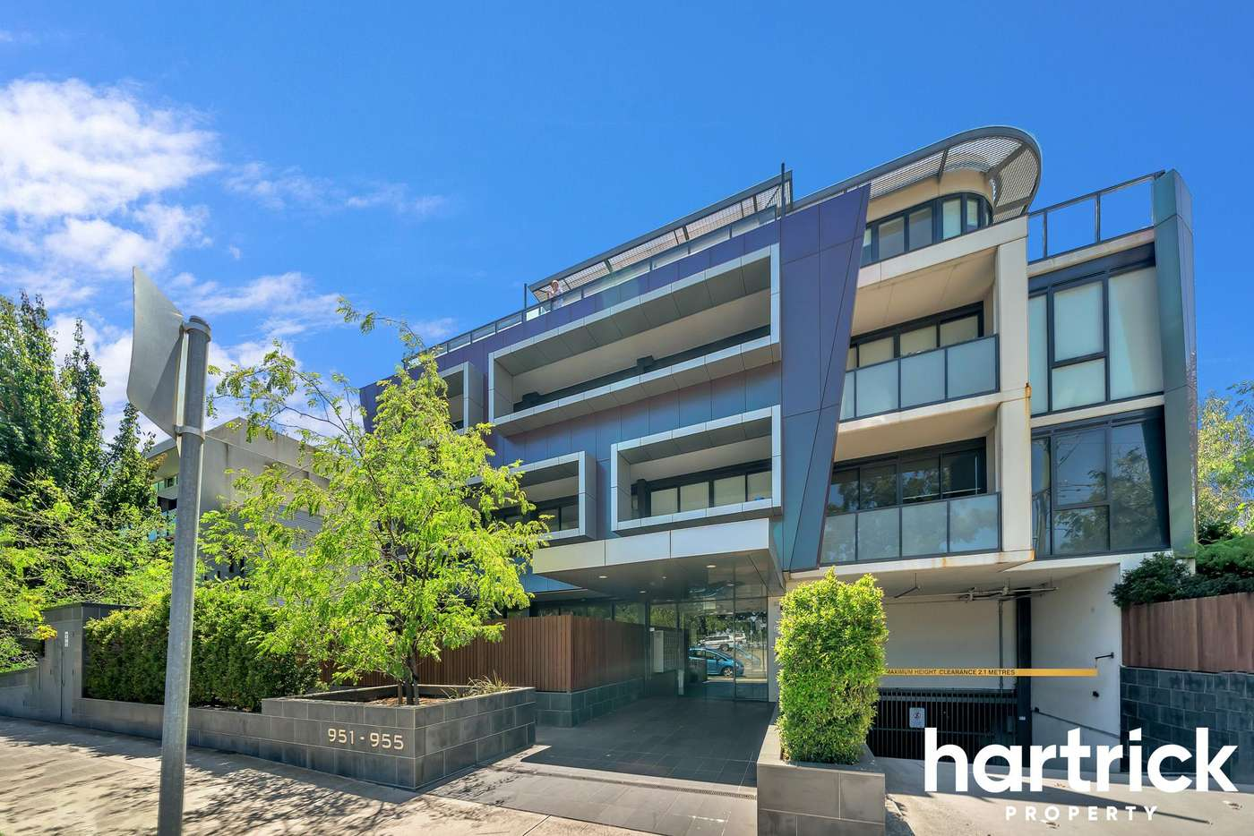 Main view of Homely apartment listing, 308/951-955 Dandenong Road, Malvern East VIC 3145