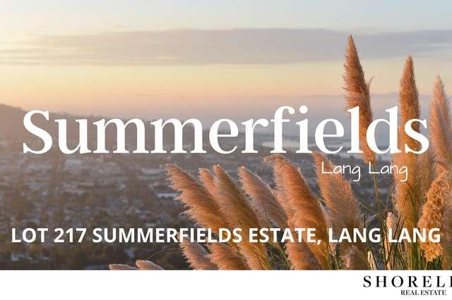 Lot 217 Summerfields Estate, Lang Lang VIC 3984