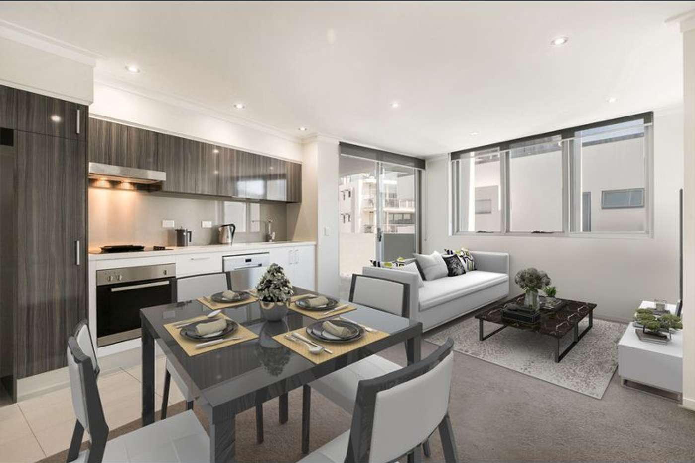 Main view of Homely apartment listing, 1002/35 MCDOUGALL, Milton QLD 4064