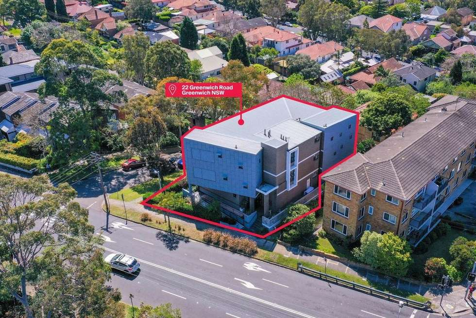 Third view of Homely studio listing, G.03/22 Grenwich Road, Greenwich NSW 2065