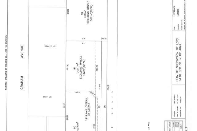 Lots 90-92 Chrysanthemum Ave, Lurnea NSW 2170