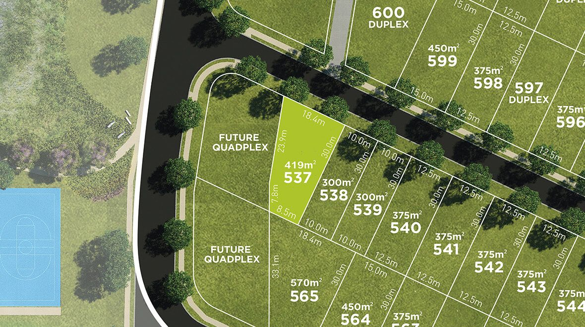 Lot 537 Bradfield Street