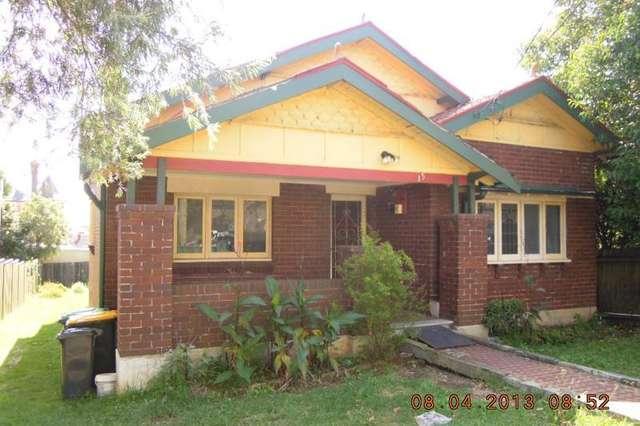 15 Wyalong Street, Burwood NSW 2134