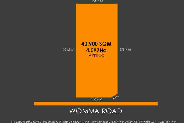 Lot 342 Womma Road, Penfield SA 5121