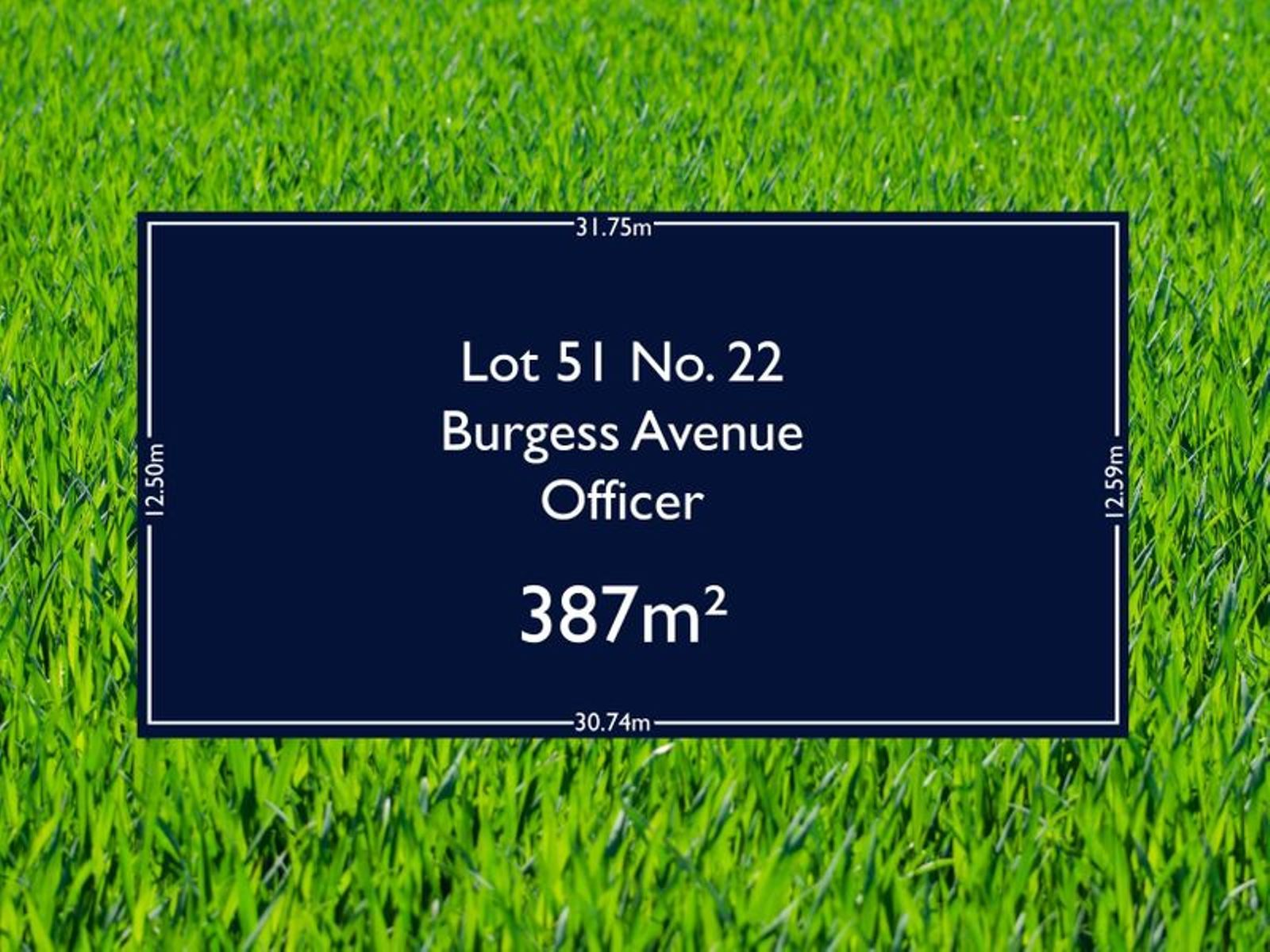 Lot 51, 22 Burgess Avenue