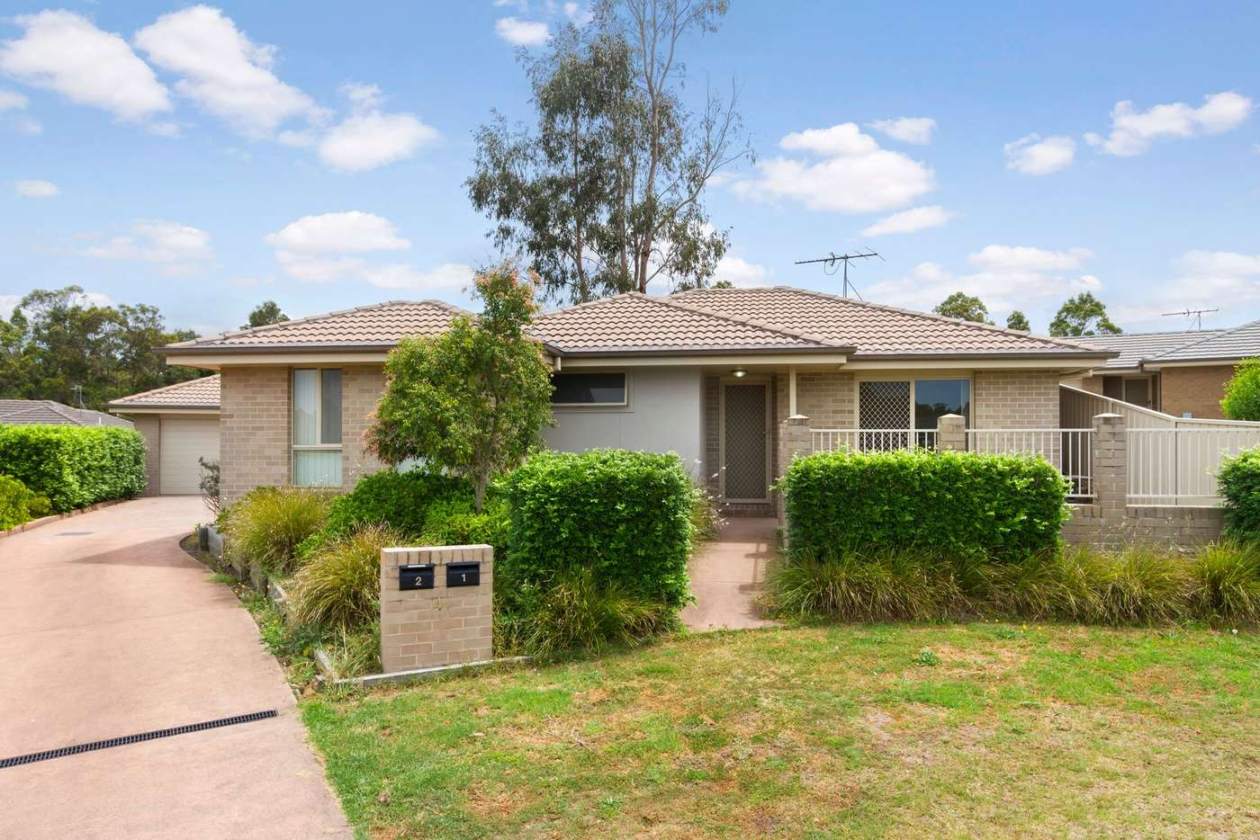 Main view of Homely villa listing, 1/4 Pinetree Place, Ashtonfield NSW 2323