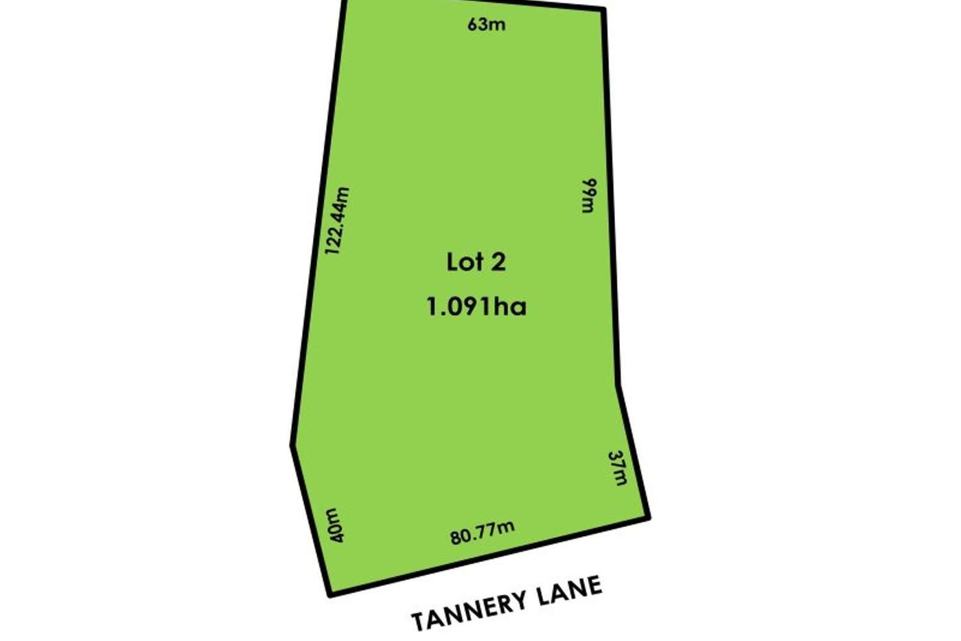 Main view of Homely residentialLand listing, Lot 2/319 Tannery Lane, Mandurang VIC 3551