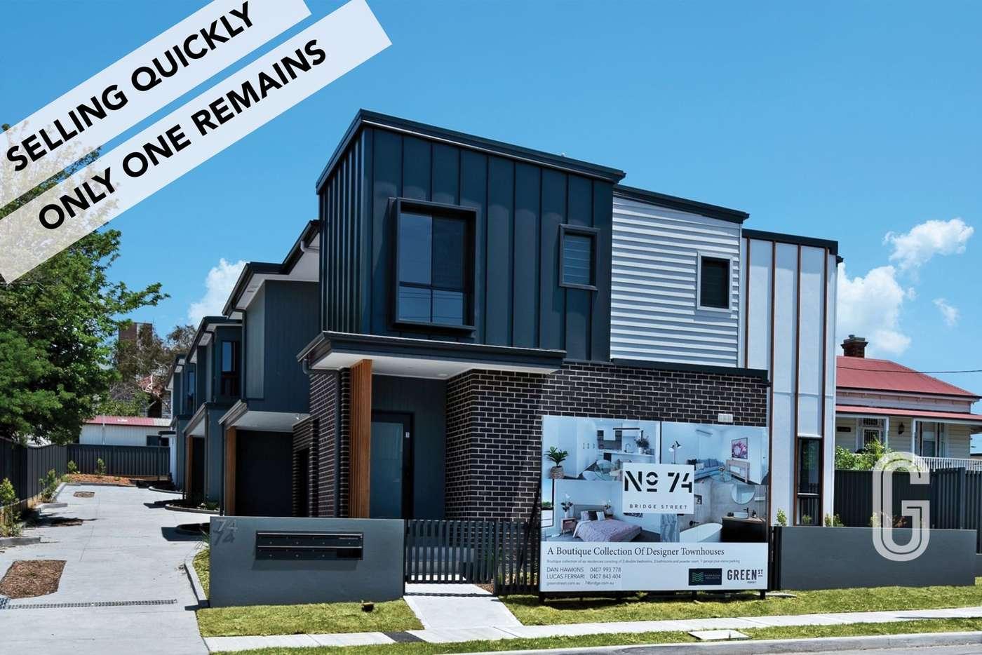 Main view of Homely townhouse listing, 74 Bridge Street, Waratah NSW 2298