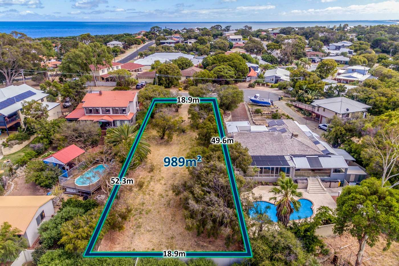 Main view of Homely residentialLand listing, 10 Kyrean Street, Falcon WA 6210
