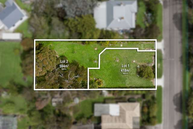 Lot 1 & 2/199 Palmerston Avenue, Dromana VIC 3936