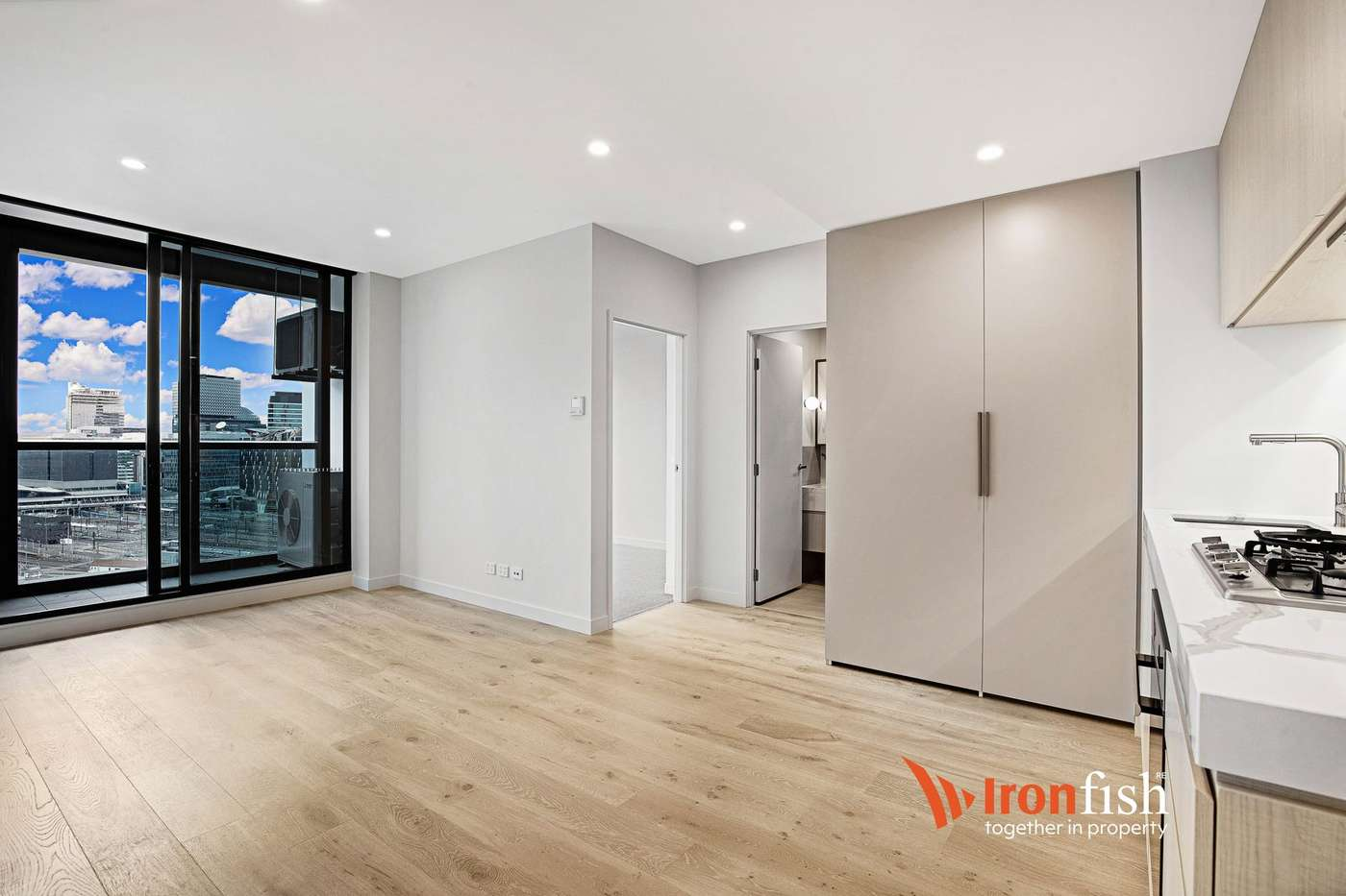 Main view of Homely apartment listing, 1B/105 Batman Street, West Melbourne, VIC 3003