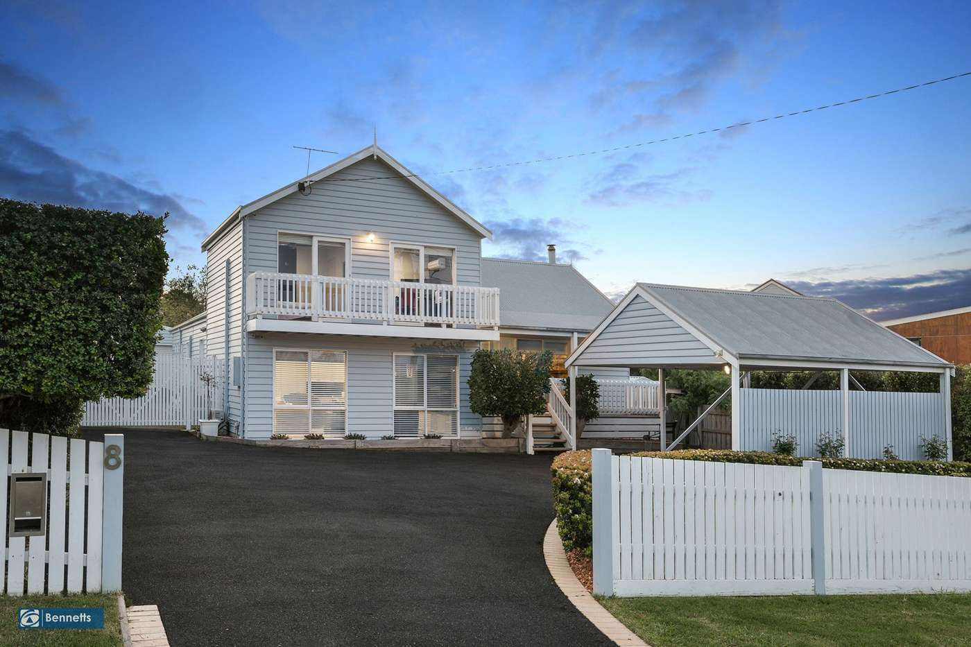 Main view of Homely house listing, 8 Jetty Road, Dromana, VIC 3936