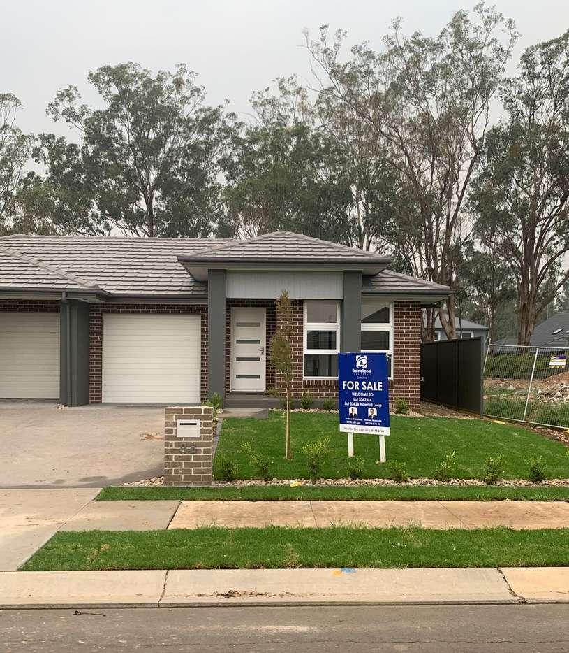 Main view of Homely semidetached listing, Unit 1/(Lot 3362) 9 Howard Loop, Oran Park, NSW 2570