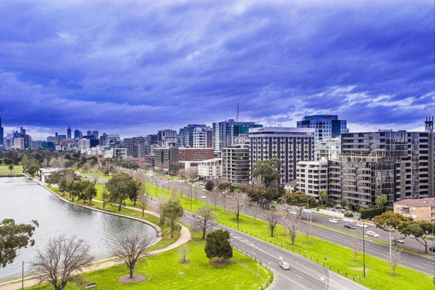 Main view of Homely apartment listing, 809/74 Queens Road, Melbourne, VIC 3000