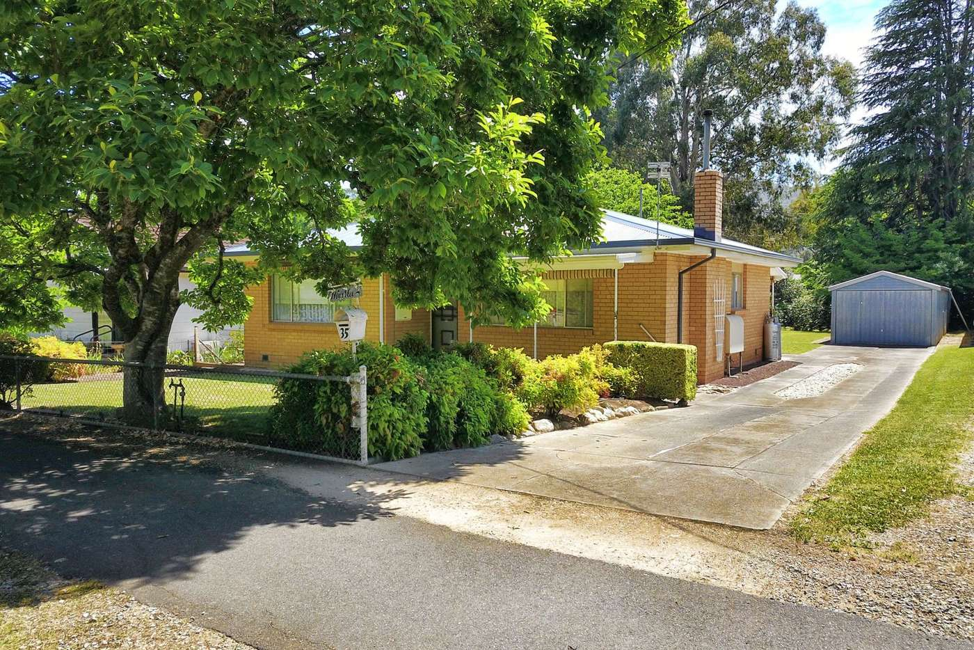 Main view of Homely house listing, 35 Cobden Street, Bright VIC 3741