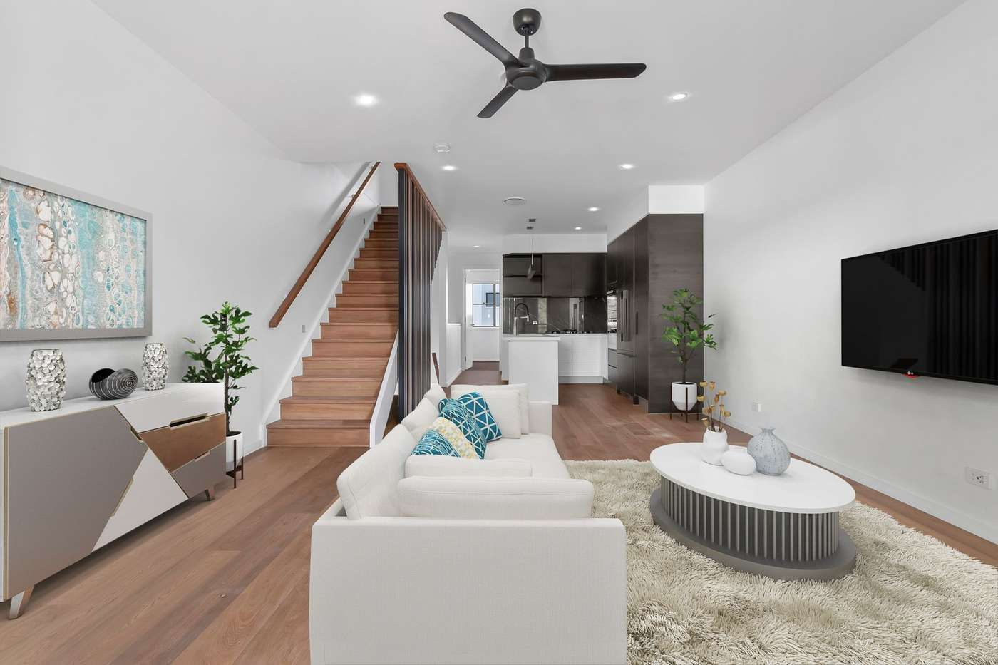 Main view of Homely townhouse listing, 4/42 Johnston Street, Bulimba, QLD 4171