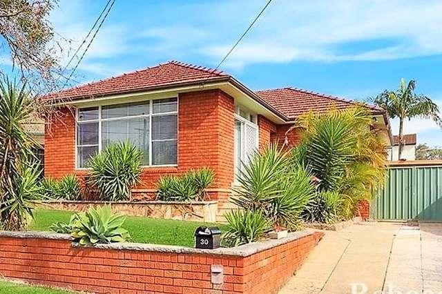 30 Eleanor Avenue, Belmore NSW 2192