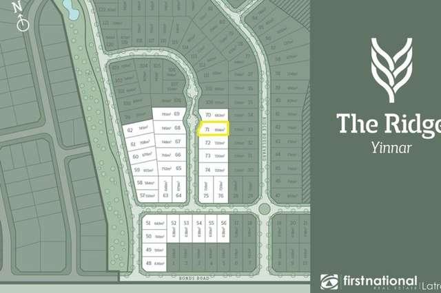 Lot 71/55 Bonds Road, Yinnar VIC 3869
