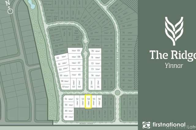 Lot 55/55 Bonds Road, Yinnar VIC 3869
