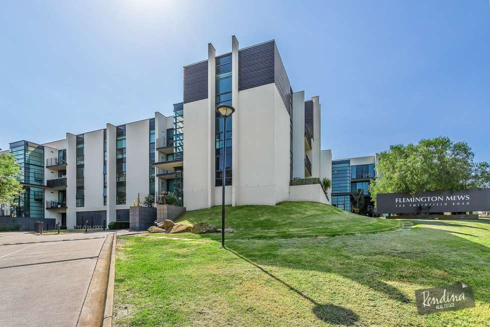 Second view of Homely apartment listing, 223/200 Smithfield Road, Flemington VIC 3031