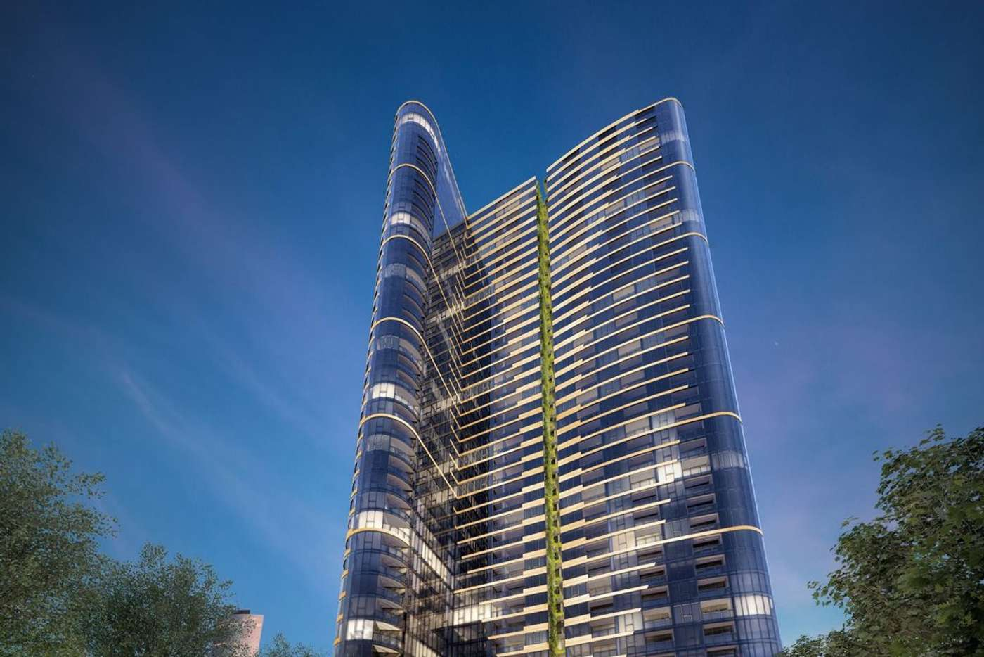 Main view of Homely apartment listing, 111/628 Flinders Street, Docklands VIC 3008