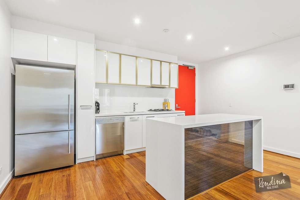 Second view of Homely apartment listing, 110/18 Bent Street, Kensington VIC 3031