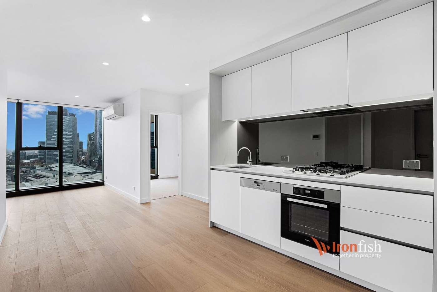 Main view of Homely apartment listing, 3218/628 Flinders Street, Melbourne VIC 3000