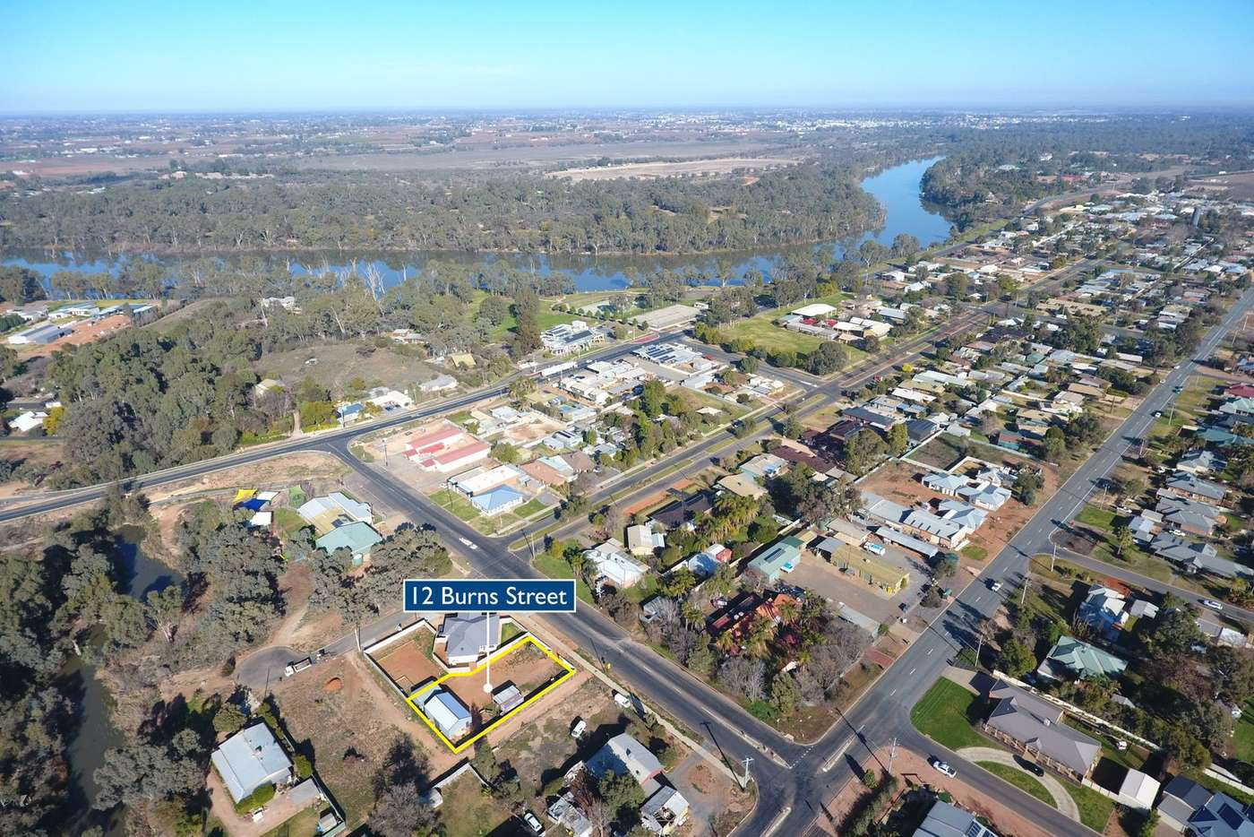Main view of Homely residentialLand listing, 12 Burns Street, Gol Gol NSW 2738
