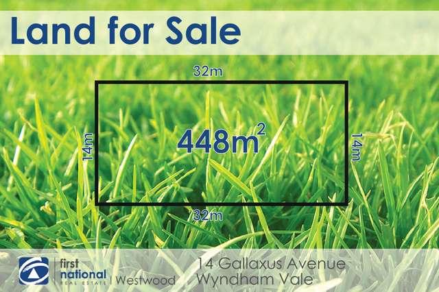 14 Gallaxus Avenue, Wyndham Vale VIC 3024