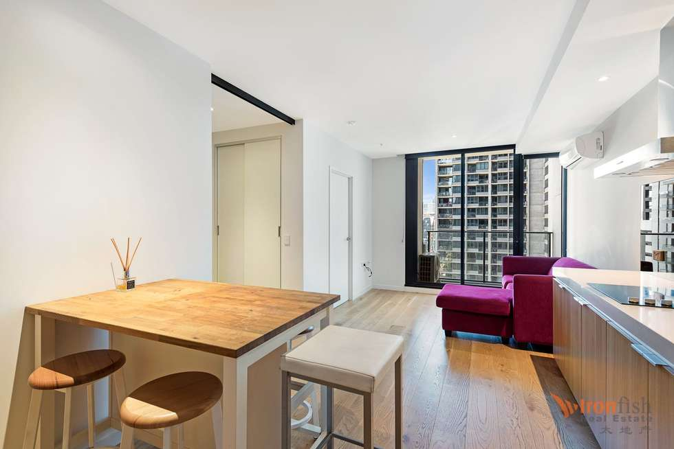 Second view of Homely apartment listing, 1507B/11 Rose Lane, Melbourne VIC 3000