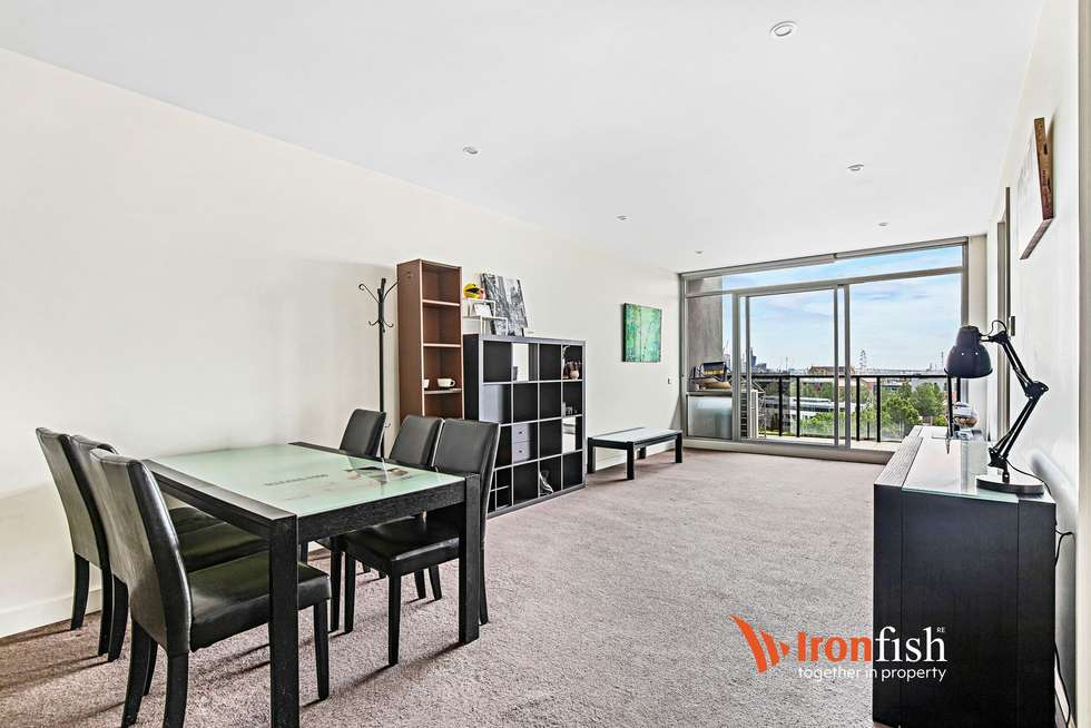 Second view of Homely apartment listing, 704/95 Berkeley Street, Melbourne VIC 3000