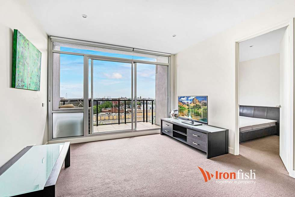 Third view of Homely apartment listing, 704/95 Berkeley Street, Melbourne VIC 3000