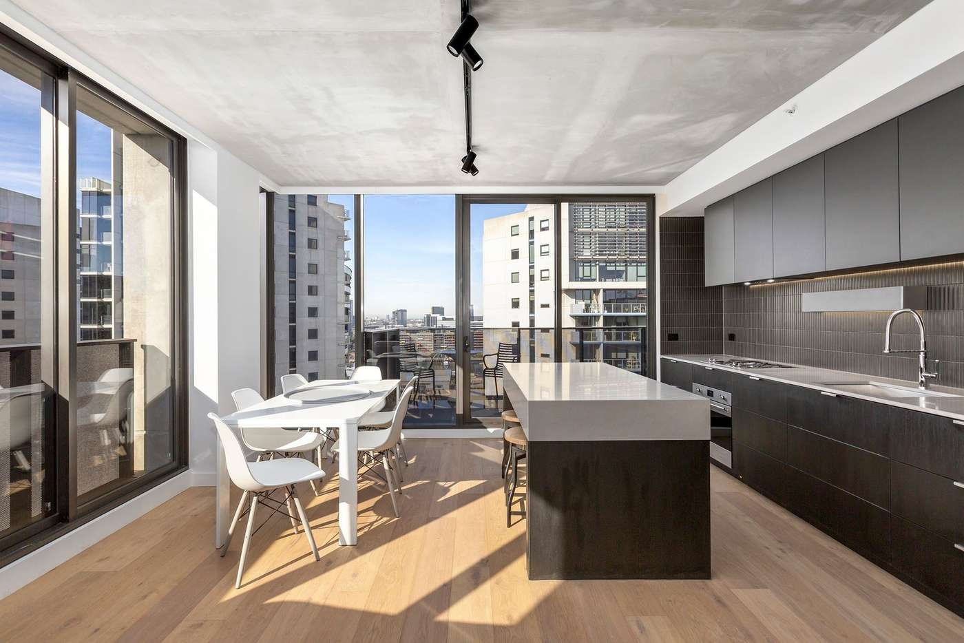 Main view of Homely apartment listing, 1701/387 Docklands Drive, Docklands VIC 3008