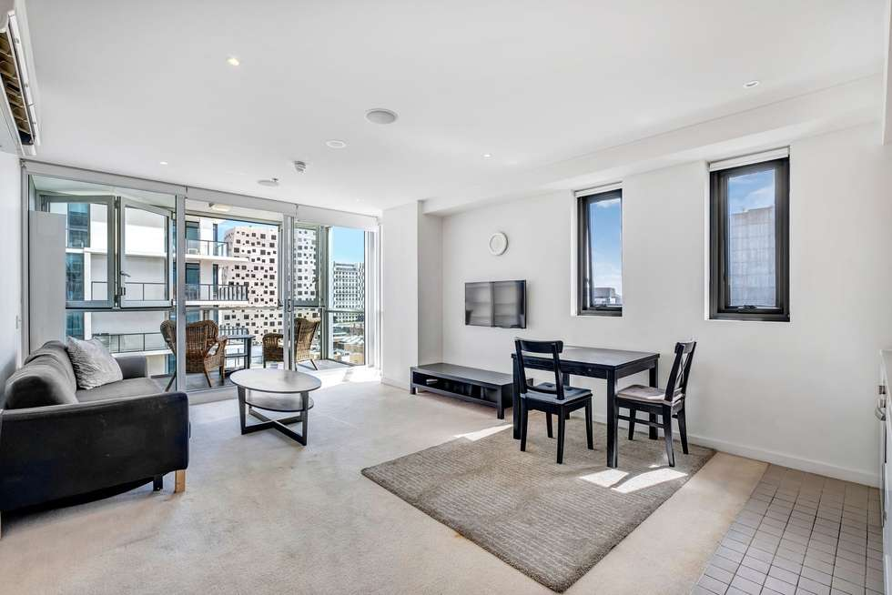 Third view of Homely apartment listing, 807/10 Balfours Way, Adelaide SA 5000