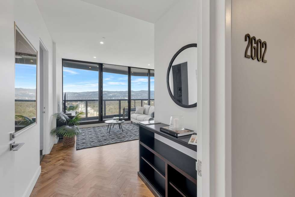 Second view of Homely apartment listing, 2602/421 King William Street, Adelaide SA 5000