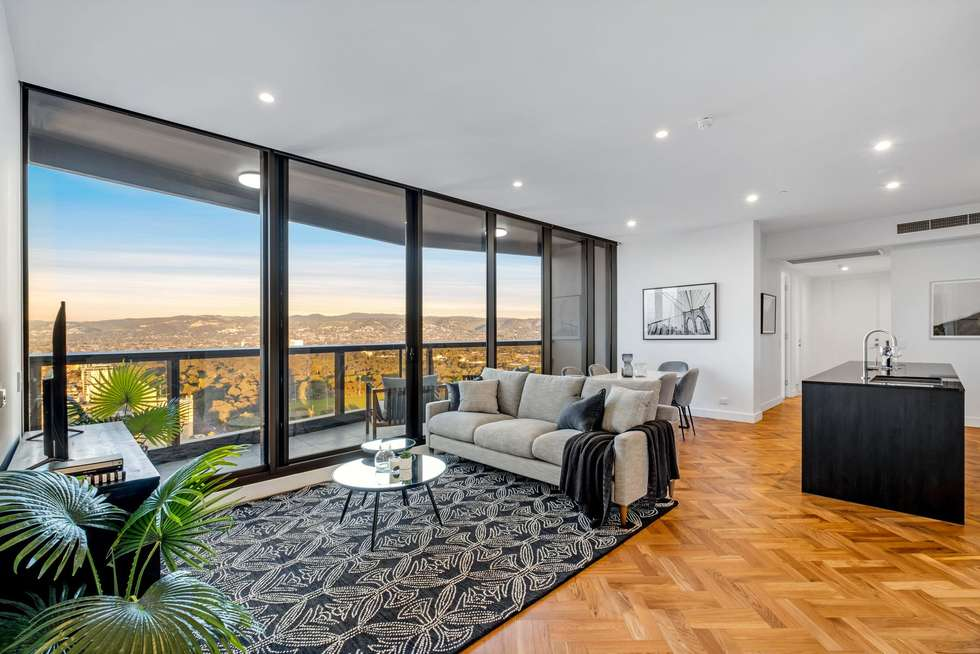 Third view of Homely apartment listing, 2602/421 King William Street, Adelaide SA 5000