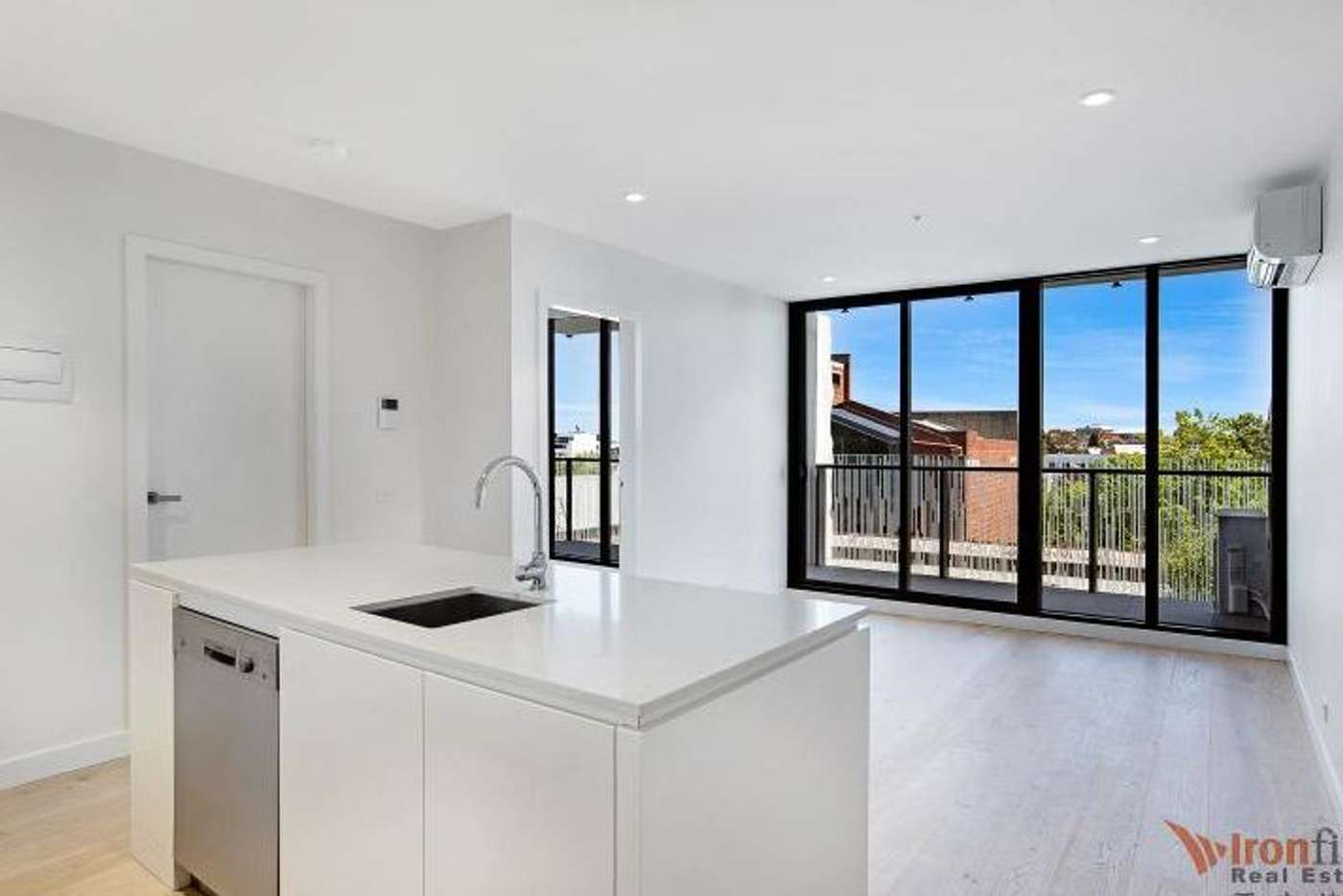 Main view of Homely apartment listing, 303/130 Dudley Street, West Melbourne VIC 3003
