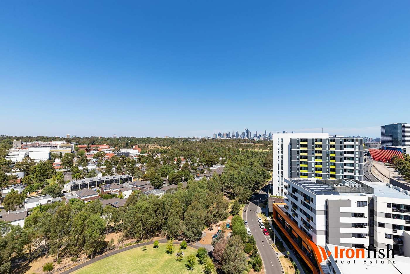 Seventh view of Homely apartment listing, 1302/91 Galada Avenue, Parkville VIC 3052