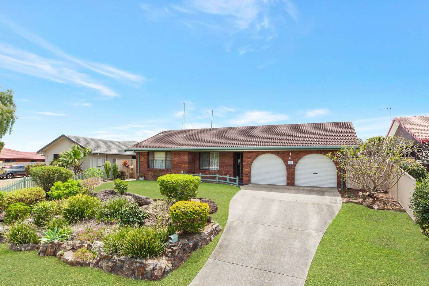 Main view of Homely house listing, 22 Treeview Drive, Burleigh Waters QLD 4220